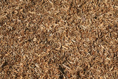 Wood chip. Seamless tiling woodchips for landscaping.  Great texture background Royalty Free Stock Photos