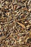 Wood Chip Background Stock Photo