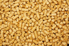Wood chip bio fuel a renewable alternative source of energy. Wood chip pellets a renewable source of energy becoming popular as a green environmentally friendly royalty free stock images
