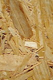 Wood chip particle board Royalty Free Stock Image