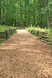 Wood Chip Trail Stock Image