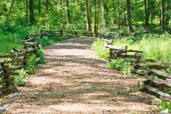 Wood Chip Walking Trail Stock Photos