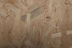 Wood chipboard background. Old panel Royalty Free Stock Photography
