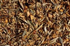 Wood chiper för att skapa träflismaterialet eller att fodra royaltyfria bilder