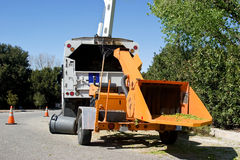 Wood Chipper Royalty Free Stock Image