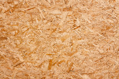 Wood chippings board. Recycled compressed wood chippings board Stock Photos