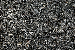 Wood Chips. Garden wood chips background or textured image Royalty Free Stock Photography