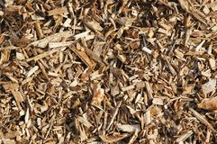 Wood Chips Royalty Free Stock Images