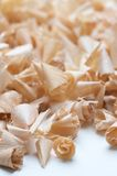 Wood chips. A pile of wood chips Stock Image