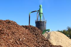 Free Wood Chips And Sawdust, Jevany, Czech Republic Royalty Free Stock Image - 152736916