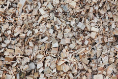 Wood chips Stock Photos
