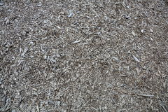 Wood chips for paths Stock Photos