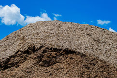 Wood chips stock photography