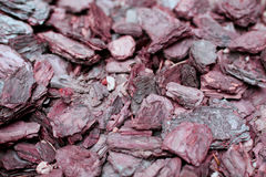 Wood chips retro colored background Royalty Free Stock Photography