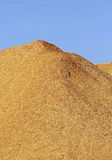 Wood Chips Sawdust Pile Vertical Royalty Free Stock Photo