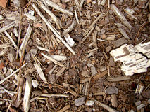 Wood chips texture Stock Photography