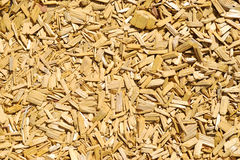 Wood chips texture Royalty Free Stock Images