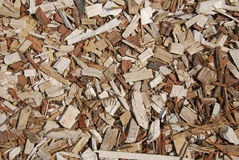 Wood chips texture Royalty Free Stock Photo