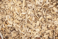 Wood chips Royalty Free Stock Image