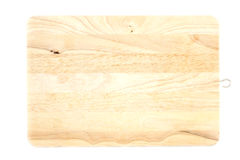 Wood chopping board Royalty Free Stock Images