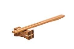 Wood chopsticks Stock Photos