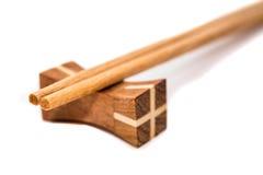 Wood chopsticks Stock Image