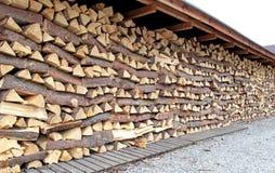 Wood chunks Royalty Free Stock Image