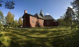 Wood church in Ilomantsi Stock Photography