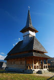 Wood church in Romania Royalty Free Stock Photos
