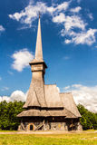 Wood church Royalty Free Stock Photography