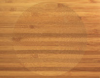 wood circle pattern Stock Photo
