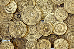 Wood circle Royalty Free Stock Photos