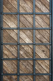 Wood clad iron. As background Stock Photos