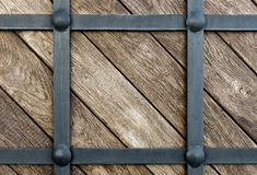 Wood clad iron Stock Images
