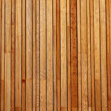 Wood Cladding. Vertical pattern of wood cladding on a building Royalty Free Stock Image