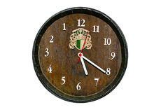 Wood Clock Stock Photos
