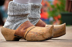 Wood clogs Royalty Free Stock Photos