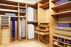 Wood closet Stock Photos