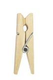 Wood clothespin Stock Photos