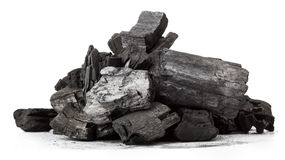 Wood coal Royalty Free Stock Photography
