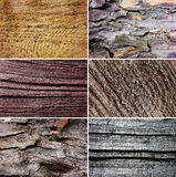 Wood Collection Texture Background Royalty Free Stock Photos
