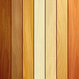 Wood collections realistic texture design Royalty Free Stock Image