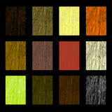 Wood Color Samples royalty free stock image