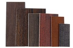 Wood color and texture sample Royalty Free Stock Images
