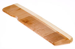 Wood comb Stock Images