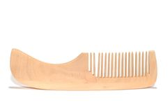 Wood comb Royalty Free Stock Photo