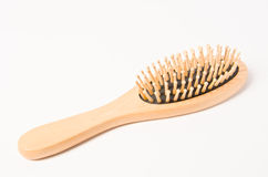 Wood comb Royalty Free Stock Photos