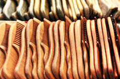 Wood combs Stock Photography