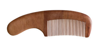 Wood comb Royalty Free Stock Photography