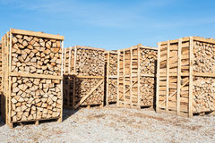 Wood complex for sale at the depot. Royalty Free Stock Photo